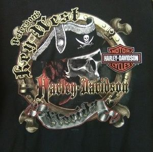 Harley Davidson Petersons Key West Florida T-Shirt